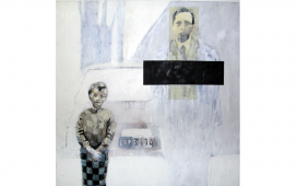 SITE-WEB-PAINTINGS--EUR-3114,-Acrylique,-crayon-et-vernis-sur-toile,-80X80-cm,-2007