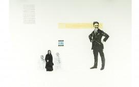 De-grands-espaces-en-perspective.-Crayon,-aquarelle-et-vernis-sur-papier.-50X70-cm