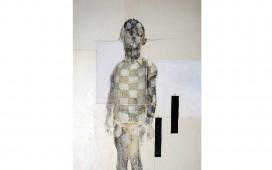 Garçon.-Techniques-mixtes-sur-papier-marouflé-sur-toile.-30X24--cm.-2005