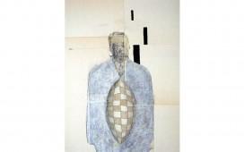 Homme-fécond.-Techniques-mixtes-sur-papier-marouflé-sur-toile.-30X24--cm