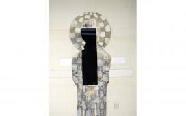 Six-petits-traits,-techniques-mixtes-sur-papier-marouflé-sur-toile,--30X24--cm,-2006,-(collection-particulière)